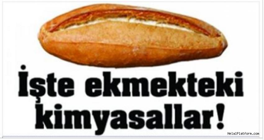 Ekmekte Kullanılan Kimyasal Maddeler