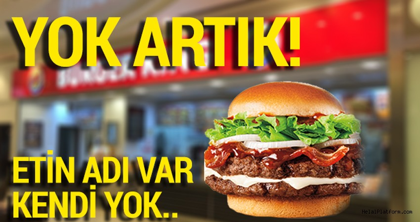 Fast Food firmalarının et adı altında başka ürünler sattığı ortaya çıktı!