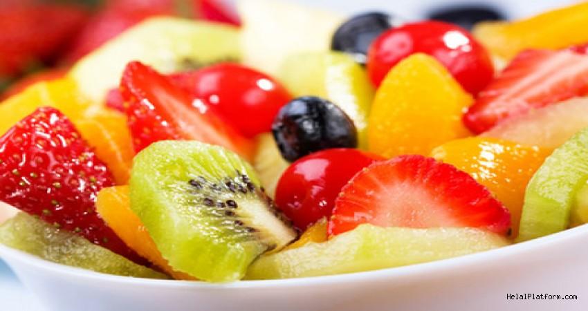 İftar ve sahur sonrası meyve yemeyin!