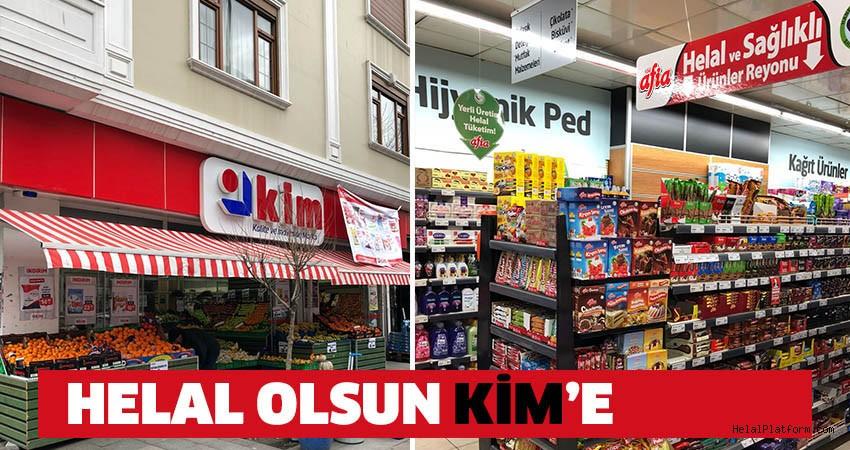 Kim Market'ten Bir İlk; Helal Ürün Reyonu
