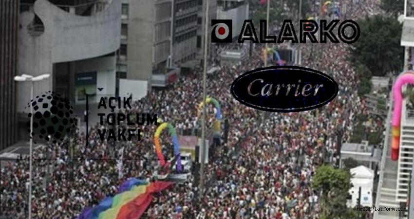 LGBT'yi destekleyen vakıf ve firmaları açıklıyoruz