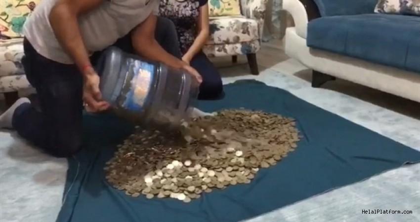 Sigaraya vereceği parayı 14 ay biriktirdi