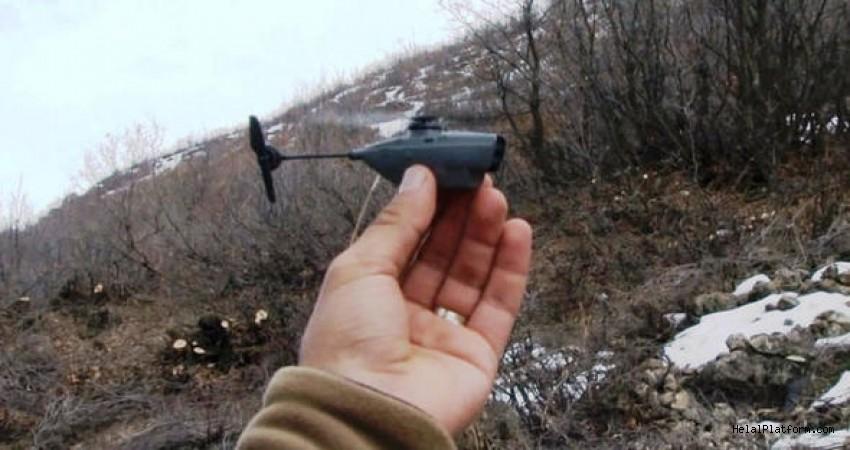 TSK, Afrin'de 'Eşek Arısı' Drone kullanıyor