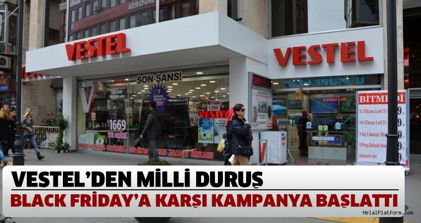 "Vestel ""kara cuma"" ya karşı kampanya başlattı"