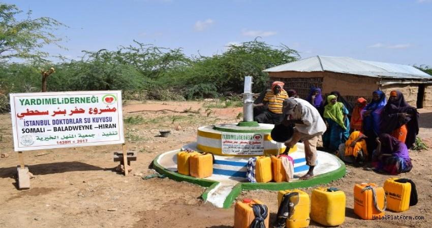 Yardımeli'nden Somali'ye  47 Yeni Su Kuyusu