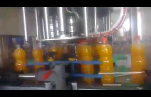 Afia portakallı gazoz üretim tesisi görüntülendi