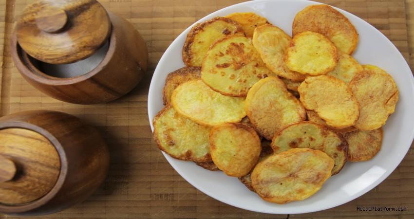 8 Adımda Evde Çıtır Patates Cipsi