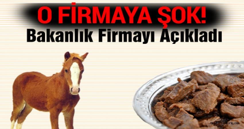 Bakanlık at ve eşek eti tespit edilen markaları açıkladı!