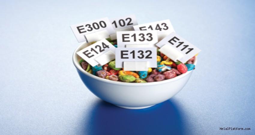 Bir yıl içinde kendi ağırlığımız kadar gıda katkı maddesi tüketiyoruz