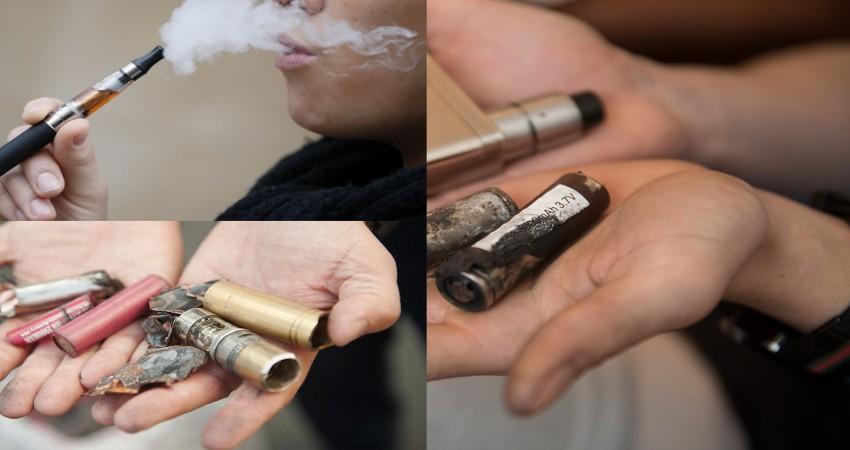 Elektronik sigara neden patlar ?