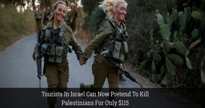 Filistinlileri öldürme turizmi 115 Dolar