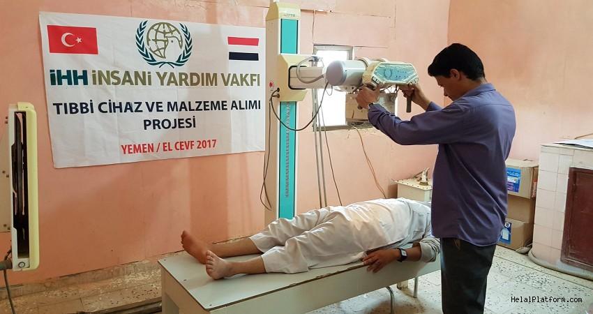 İHH'dan Yemen'e sağlık yardımı