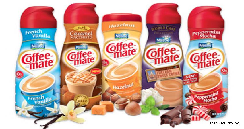Nescafe Coffee Mate İçindekiler, Katkı maddeleri