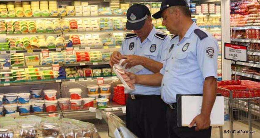 Samsun'da 71 işletmeye gıda denetiminden para cezası