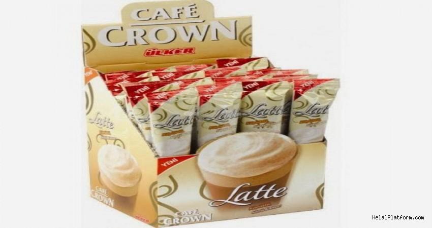 Ülker Cafe Crown Latte İçindekiler